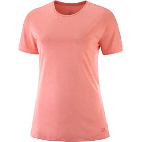 Salomon Comet Classic - Camiseta manga corta Mujer - rojo